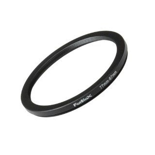 Fotodiox Metal Step Down Ring, Anodized Black Metal 77mm 67mm, 77 67 mm  Flash Adapter Rings  Camera & Photo