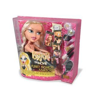 Bratz The Movie: Funky Fashion Makeover Body   Yasmin: Toys & Games