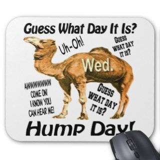 Best Selling Hump Day Camel Mousepad
