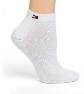 Tommy Hilfiger Women's Sport Ped Socks, 3 Pack, White
