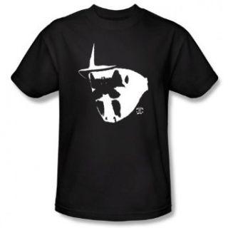 Watchmen MASK AND SYMBOL   Short Sleeve Adult Tee BLACK T Shirt Clothing