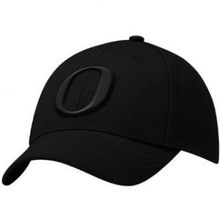 NCAA Nike Oregon Ducks Black Swoosh Flex Hat : Sports Fan Baseball Caps : Clothing