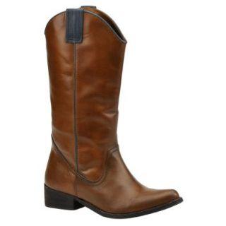 MIA Women's Sante FE Boot, Cognac/Blue, 7.5 M US: Shoes