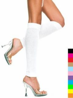 Knee High Pole Dancer Entertainer Leg Warmer   ONE SIZE: Clothing
