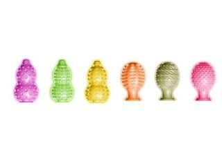 Gift Set Of Funzone Juicy Juicy 6pc Display And a Waterproof Jack Rabbit Vibes Purple Health & Personal Care