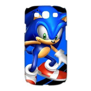 Custom Sonic the Hedgehog 3D Cover Case for Samsung Galaxy S3 III i9300 LSM 3268: Cell Phones & Accessories
