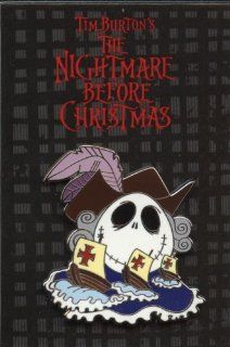 Disney Pin   The Nightmare Before Christmas   Jack Skellington Holiday Mystery Collection   Columbus Day Jack   Pin 57268: Everything Else