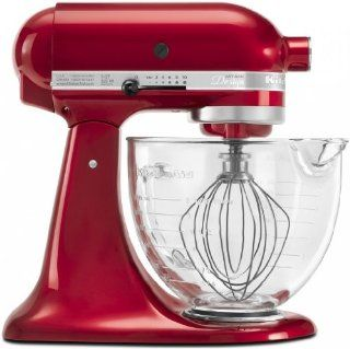 KitchenAid Metallic 5 Qt Glass Bowl Stand Mixer KSM155GBCA Candy IGN Kitchen & Dining