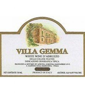 Masciarelli Bianco Villa Gemma Colline Teatine 2011 750ML Wine