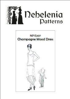 1920s Art Deco Champagne Mood Dress Pattern