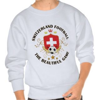 Switzerland Swiss Football Soccer Futbol Sweatshirts