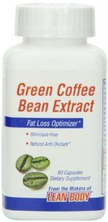 Labrada Nutrition Green Coffee Bean Extract Capsules 1050Mg, 90 Count Health & Personal Care