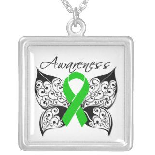 Kidney Disease Awareness Tattoo Butterfly Jewelry