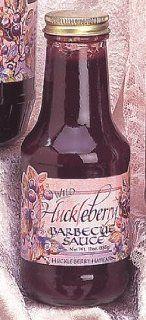 Wild Huckleberry Barbecue Sauce, 12oz  Gourmet Marinades  Grocery & Gourmet Food