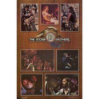 Doobie Brothers Live Pics Original 1977 23x35 Poster   Prints
