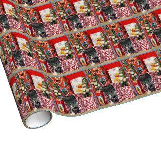 Bob's Christmas Wrap ( Kitten Cat Rescue ) Gift Wrap Paper