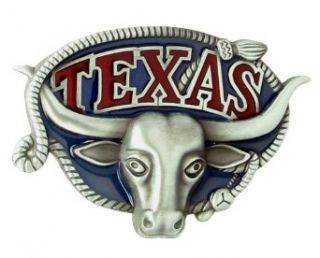 Texas Longhorn Belt Buckle Clothing
