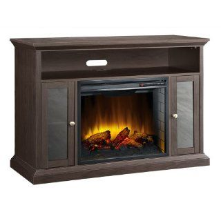 Shop Pleasant Hearth 23 Inch Riley Espresso Media Electric Fireplace at the  Home D�cor Store