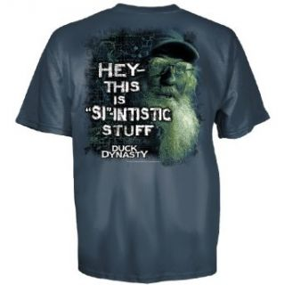 Club Red Duck Dynasty Uncle Si Hey This is SI Intistic Stuff T Shirt Harbor Blue 2XL at  Men�s Clothing store: Fashion T Shirts