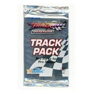 Tracksters Online Car Racing Track Pack Booster Pak (7 Code Cards): Toys & Games