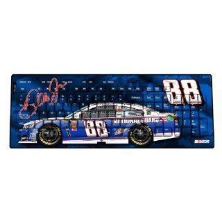 NASCAR Dale Earnhardt Jr 88 National Guard Wireless USB Keyboard : Sports Fan Office Products : Sports & Outdoors