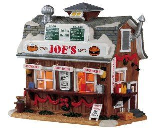 Shop Lemax Harvest Crossing Village Collection Joe's Burger & Hot Dog Stand #55214 at the  Home D�cor Store