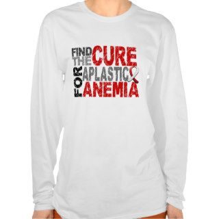 Find The Cure Aplastic Anemia T Shirt