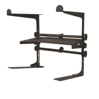 Stage Rocker Powered by Hamilton SR100001 DJ Stand   Black Powder Coated Musical Instruments