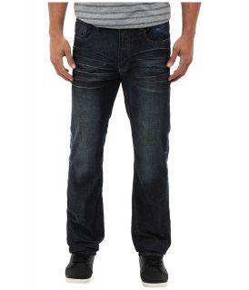 Buffalo David Bitton Six X in Heavy Hand Sanded Mens Jeans (Blue)