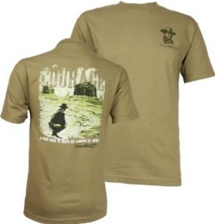 John Wayne Courage Men's T Shirt, Prairie Dust, XXX Large Clothing