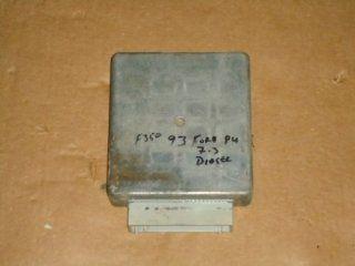 93 95 Ford F250 F350 7.3l Diesel Transmission Computer Tcm F2tf 12b565 cd: Automotive