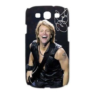 Custom Jon Bon Jovi 3D Cover Case for Samsung Galaxy S3 III i9300 LSM 565: Cell Phones & Accessories