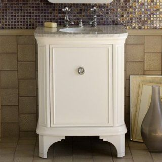 Porcher 85960 01.570 27 Inch Savina Stone Top Vanity, Cream Marble: Home Improvement