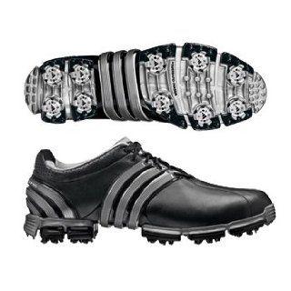 adidas Tour 360 3.0 Golf Shoe (Black/Metallic Silver)   Black/Black/Metallic Slvr 11 Shoes