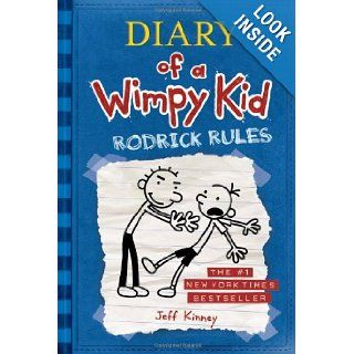 Rodrick Rules (Diary of a Wimpy Kid, Book 2) Jeff Kinney 9780810994737  Children's Books