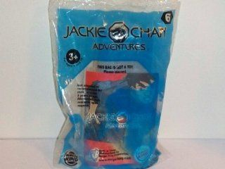 2001 Burger King Kid's Club Toy Jackie Chan Adventures Stunt Playset  Chow's Trash Can Collision #6 Toys & Games