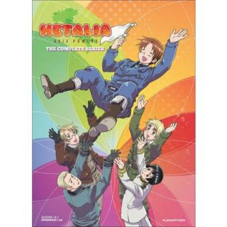 Hetalia Axis Powers   Complete Series (4 Discs)