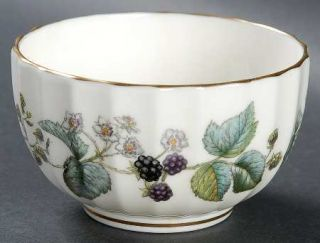 Royal Worcester Lavinia Cream (Bone) Mini Open Sugar Bowl, Fine China Dinnerware