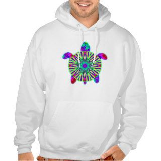 Colorful Sea Turtle Hoodies
