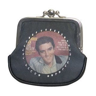 Elvis Presley Coin Purse With Clasp Style   Elvis Purse And Bag