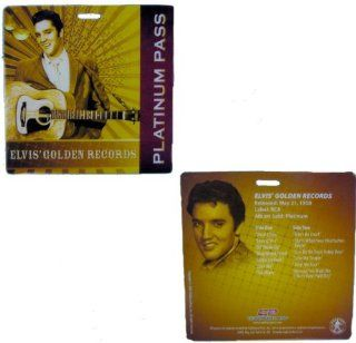 Elvis Presley Platinum Pass Elvis' Golden Records   Novelty And Amusement Toys