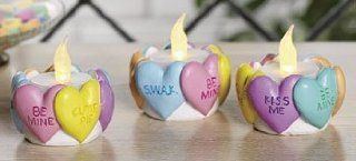 Valentine Heart Tealight Holders   Candles and Candle Holders   Tea Light Holders