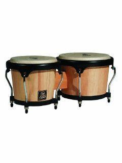 Lp Lpa601 Aspire Oak Bongos With Black Hardware Natural: Musical Instruments