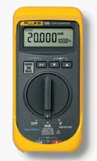 Fluke 705 Loop Calibrator, 28V Voltage, 24mA Current, 0.025 percent Accuracy: Process Calibrators: Industrial & Scientific