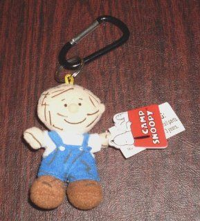 Peanuts Pig Pen Plush Doll Deluxe Keychain Camp Snoopy Key chain Pig Pen: Toys & Games