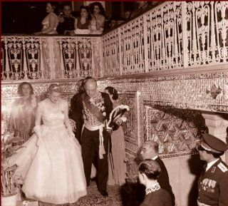 Queen Soraya Esfandiary Bakhtiari Wedding gusts, 2nd wife of Mohammad Reza Shah Pahlavi 1951, Vintage Old Photo # 02   Photographs