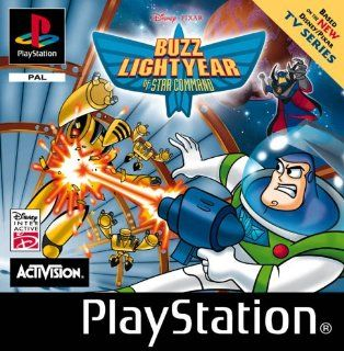 Buzz Lightyear of Star Command Video Games