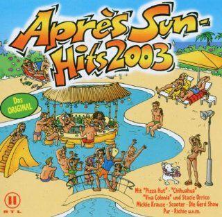 Apres Sun Hits 2003 (2CD) Music