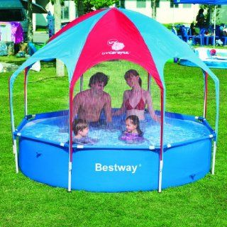 Bestway 56193 Splash in Shade Play Pool, 8 Feet by 20 Inch (Discontinued by Manufacturer): Patio, Lawn & Garden