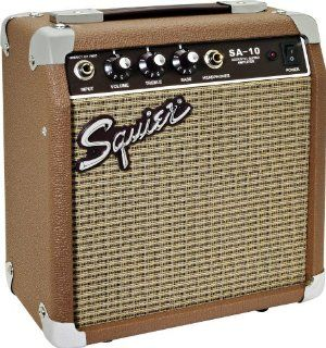 Squier® SA 10 10 watt Acoustic Guitar Amplifier Musical Instruments